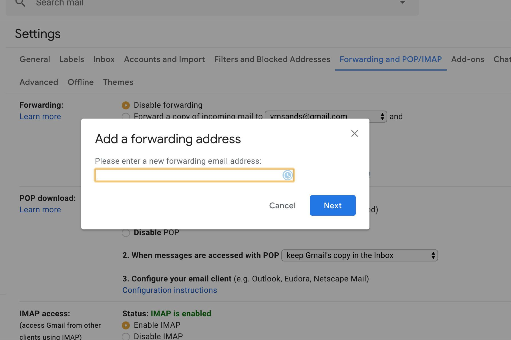 How to Forward Gmail Email Using Filters