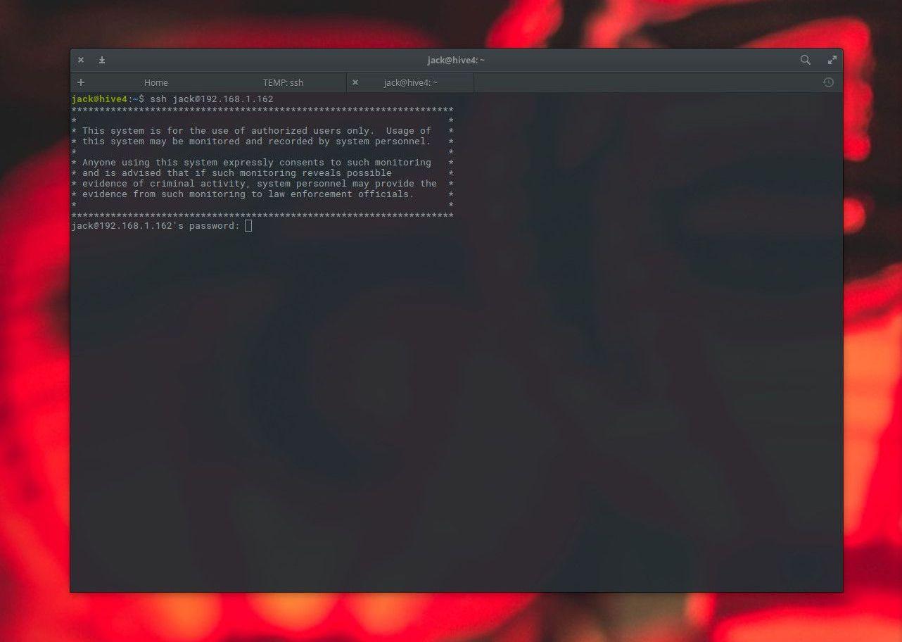 Adding a security login banner for Ubuntu Server 18.04.