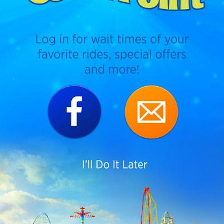 Apps for America's Biggest Amusement Parks
