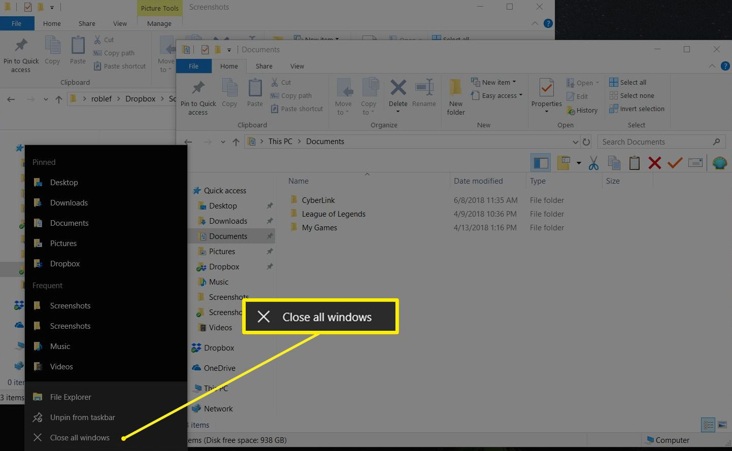 Quickly Close Open Windows Using Shortcut Keys