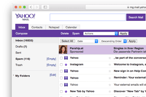 Yahoo Mail Basic Screenshot