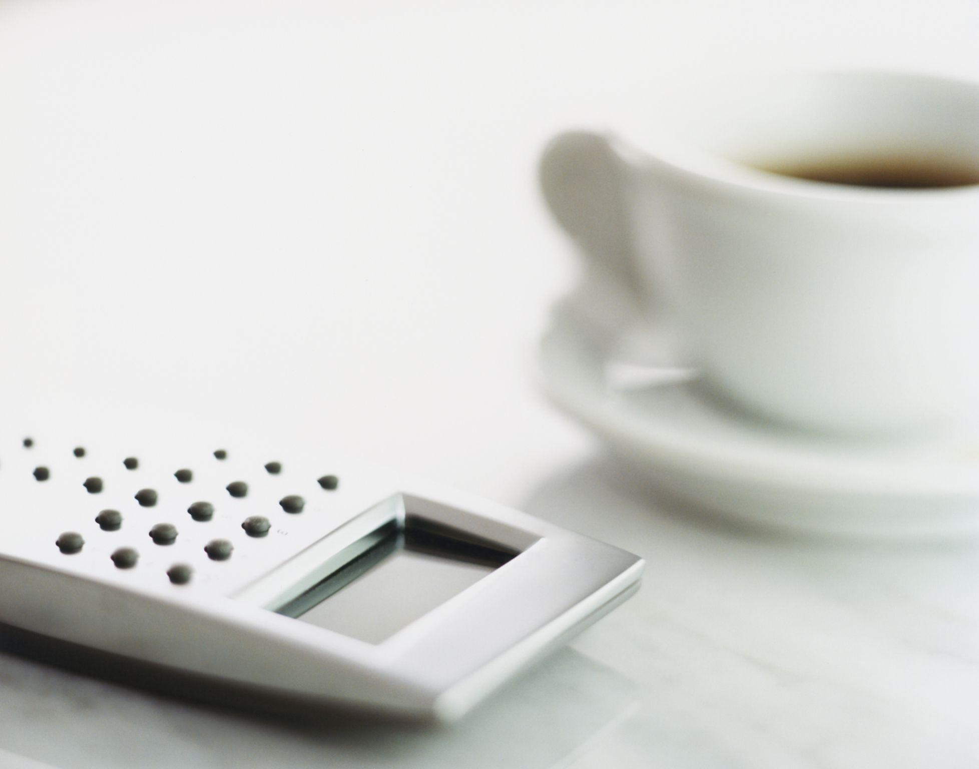 Coffee and Calculator