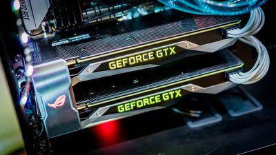 Two GeForce 1080 Tis in SLI configuration