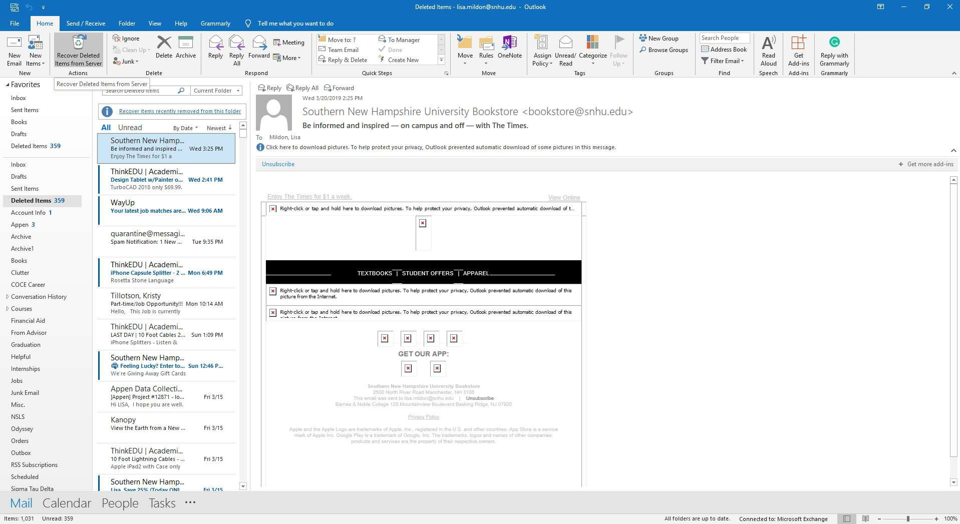 How To Retrieve Email In Outlook >> How To Recover Deleted Emails In Outlook