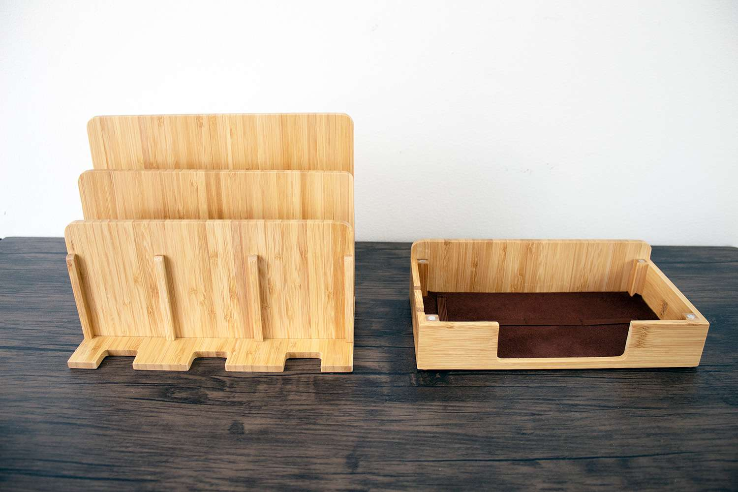 Eco Bamboo Multi-Device Charging Station