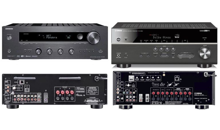 Onkyo TX-8140 Stereo Receiver vs Yamaha RX-V683 Home Theater Receiver