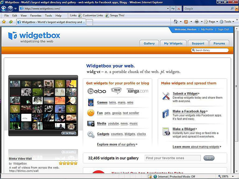 List of the top widget galleries and providers image of widgetbox publicscrutiny Images