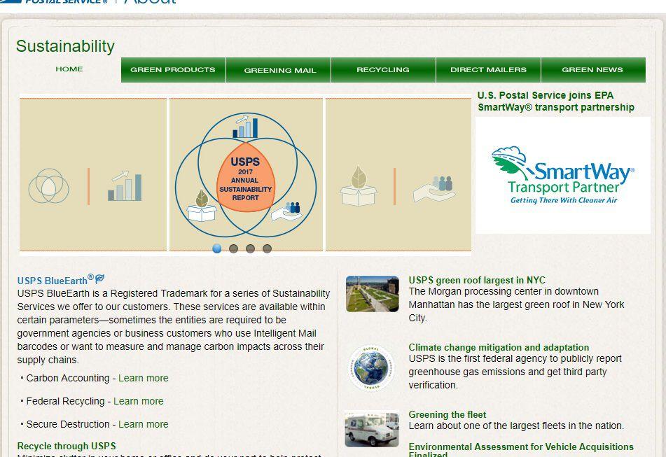 USPS Recycling Program