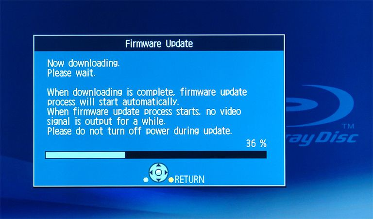 Firmware Updates and Home Theater Components