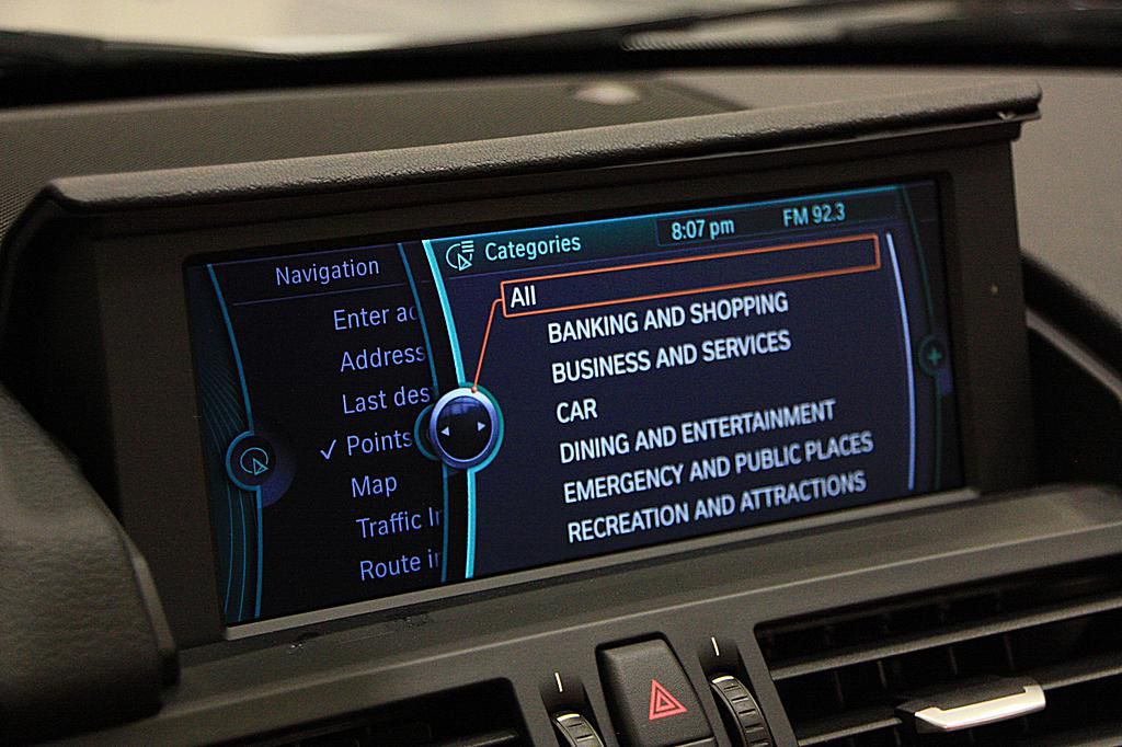 A Look at the BMW iDrive Interface