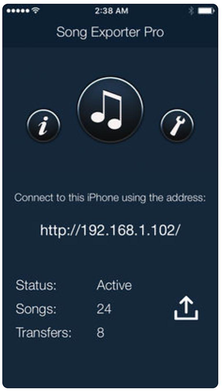 Song Exporter Pro app