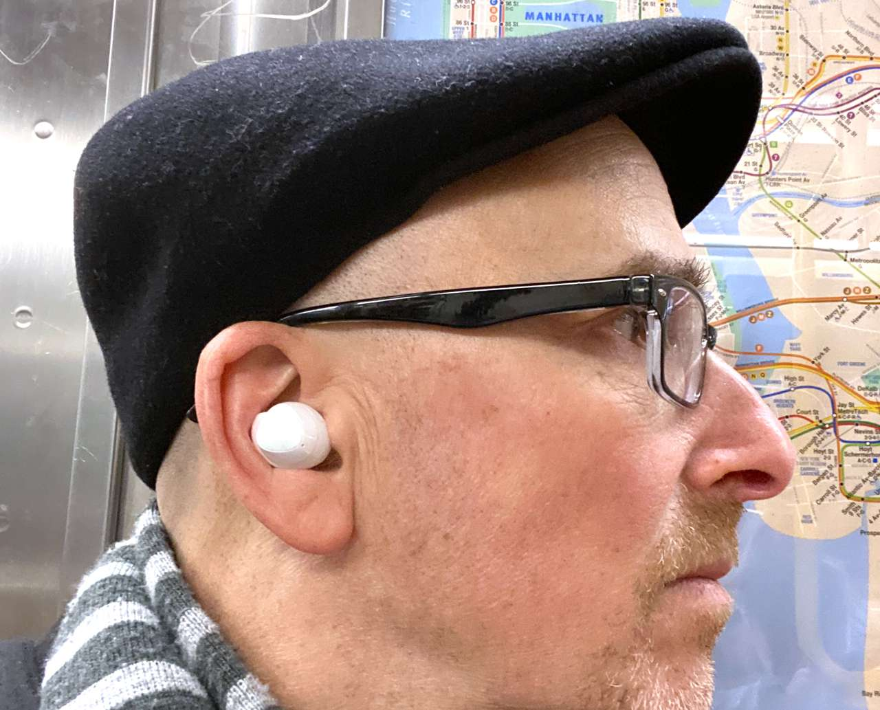 Samsung Galaxy Buds+ in author ears