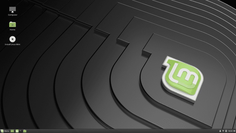 A screenshot of the Cinnamon desktop on Linux Mint