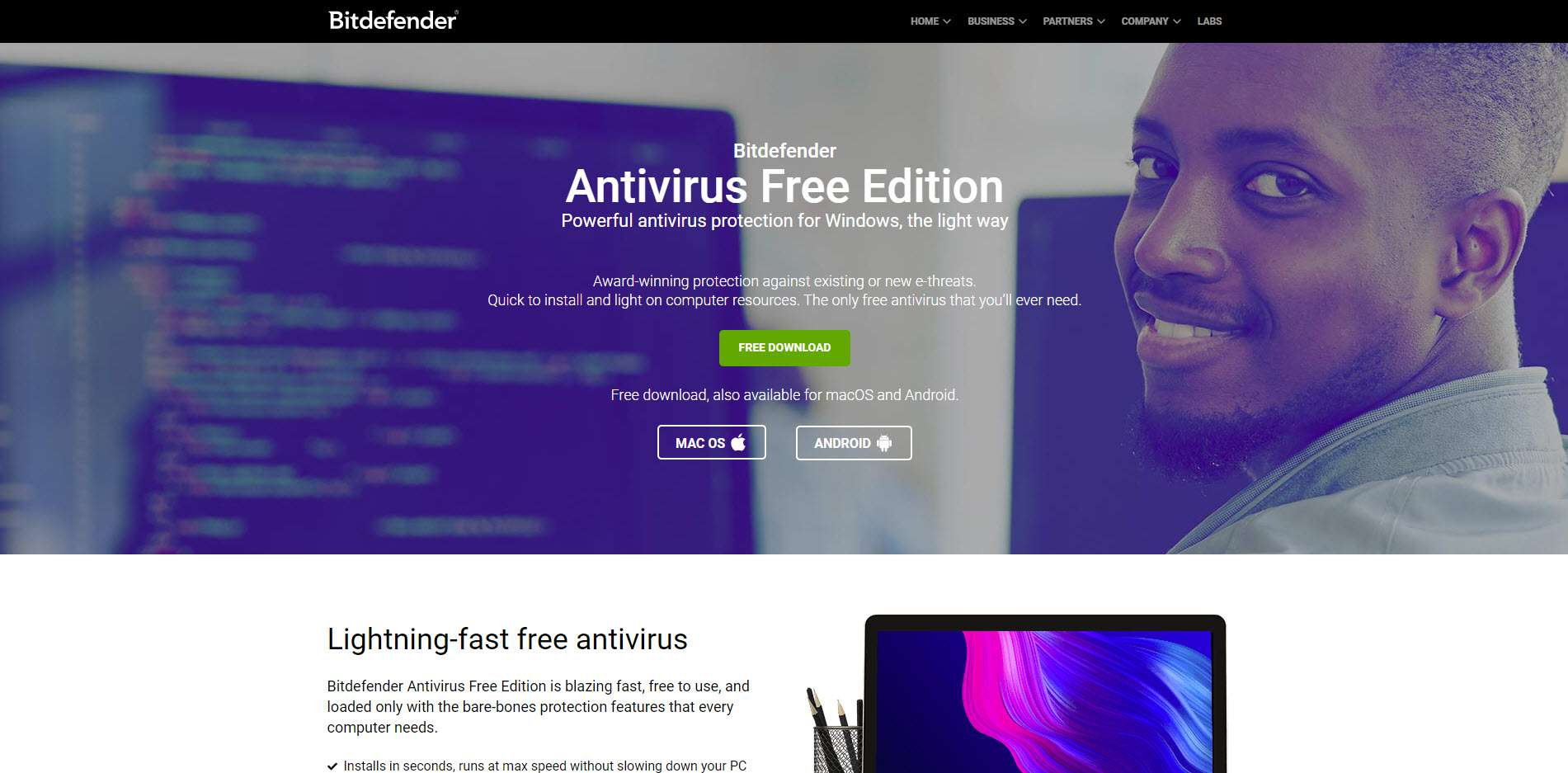 free antivirus and virus removal software download
