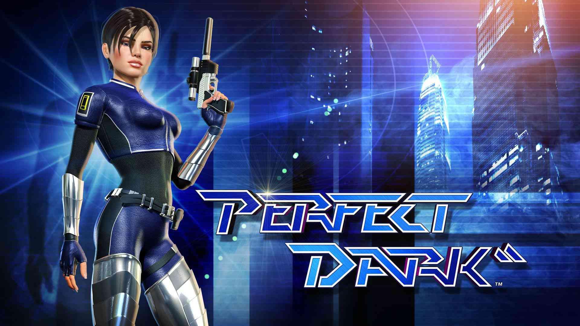 Perfect Dark logo poster