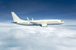 A commercial aircraft