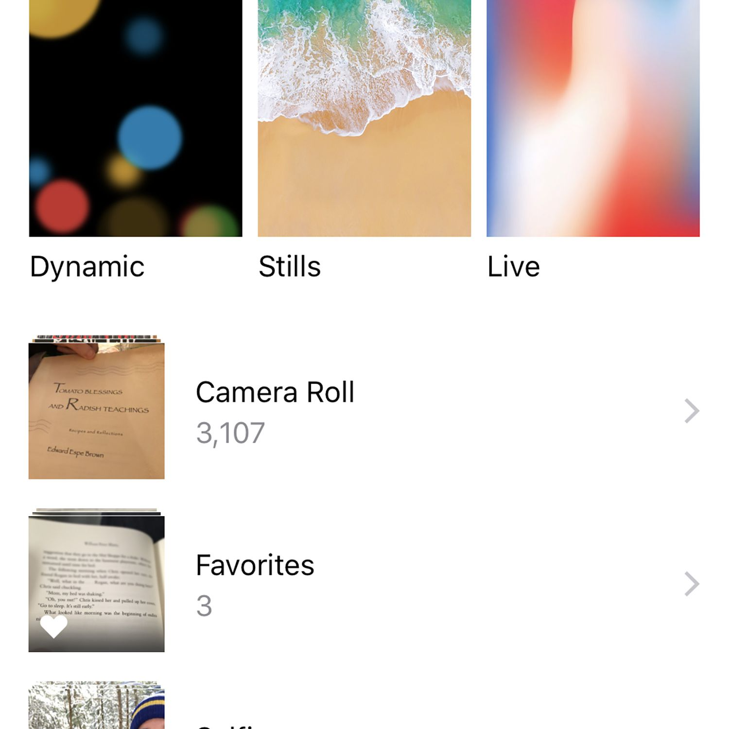 Live Vs Dynamic Wallpaper On Iphone