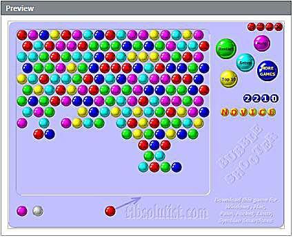 Bubbles Widget