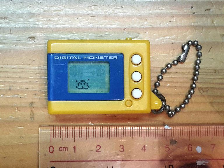 Digital monster was a classic virtual pet