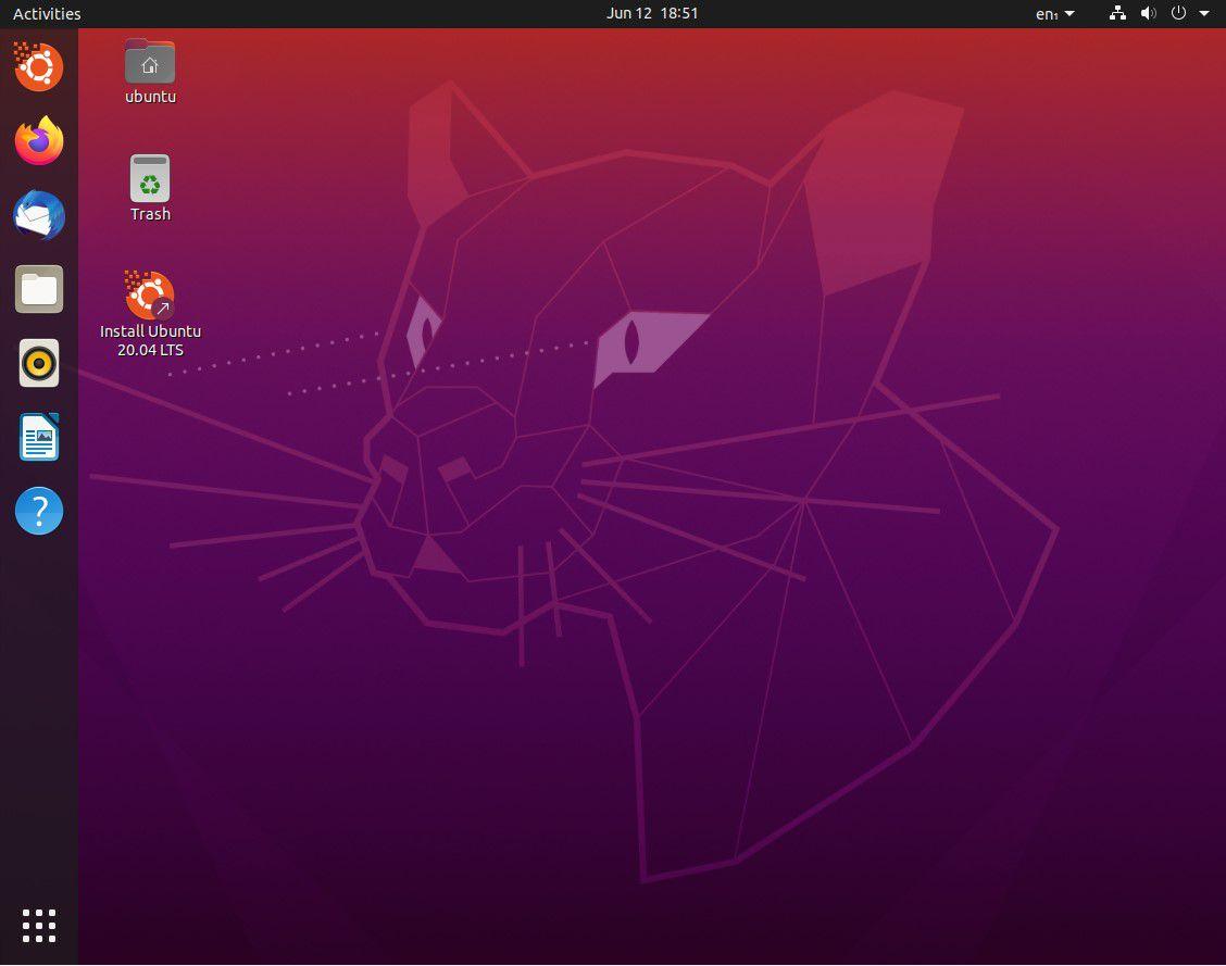 Desktop on Ubuntu's 20.04 Release