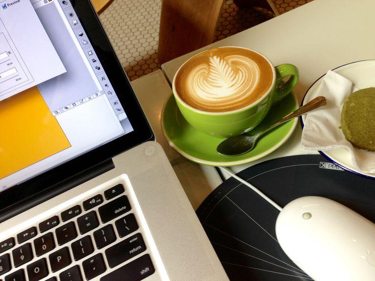 Blogging tools (coffee, computer