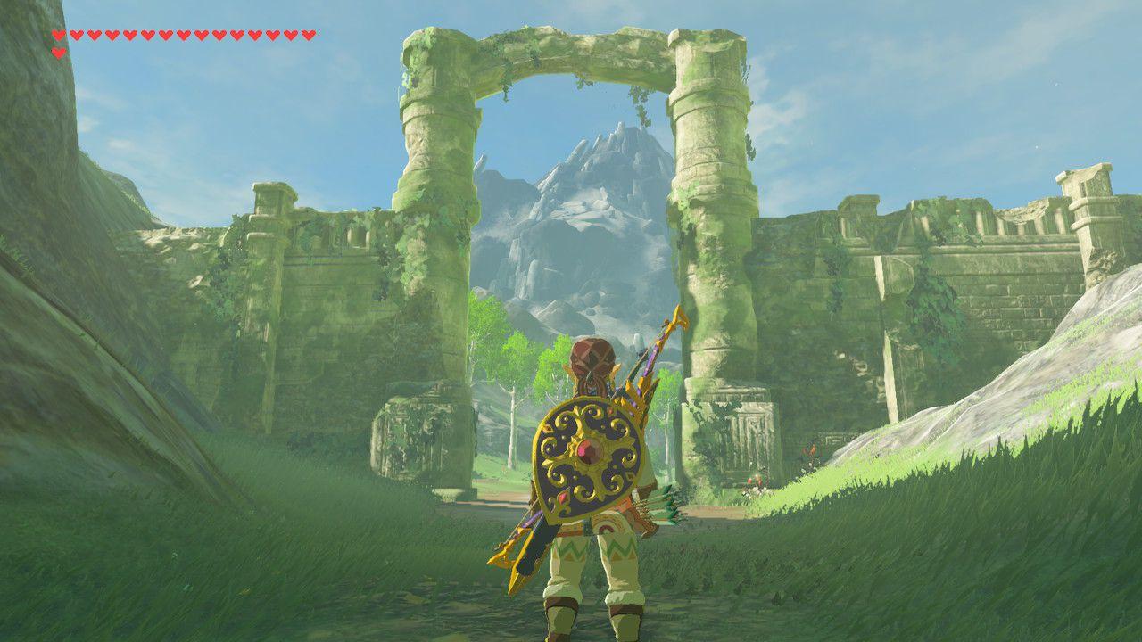 Finding Return of Calamity Ganon in The Legend of Zelda: Breath of the Wild.