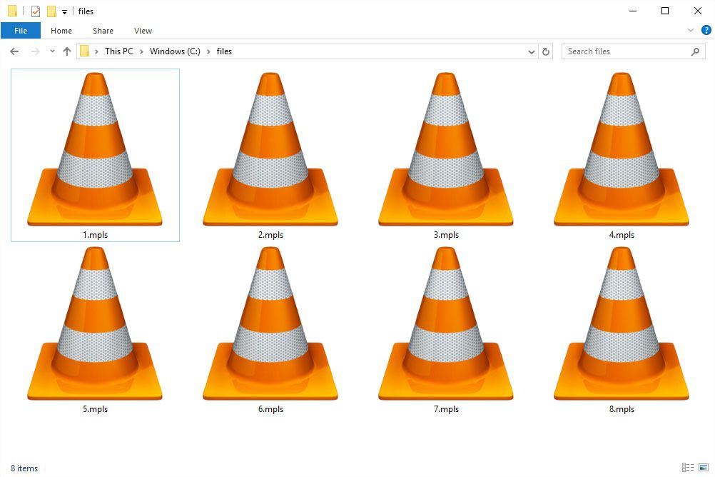 MPLS files in Windows 10 that open with VLC
