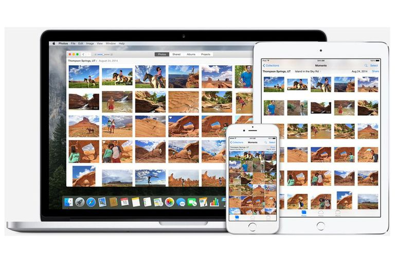 Sample of iCloud Photo Library