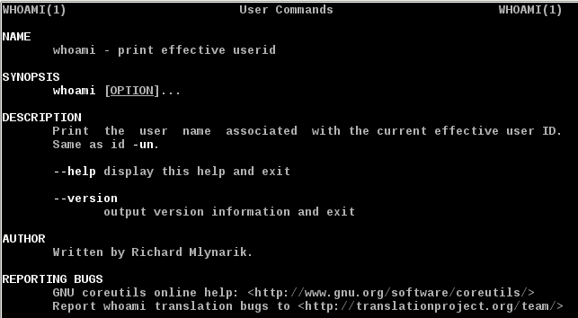 How To Find Out The Current User Using Linux Whoami Command