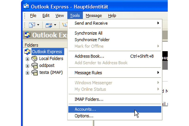 "Select ""Tools 