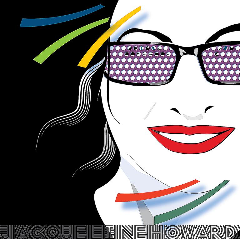 Nagel Style Portrait of Jacqueline Howard