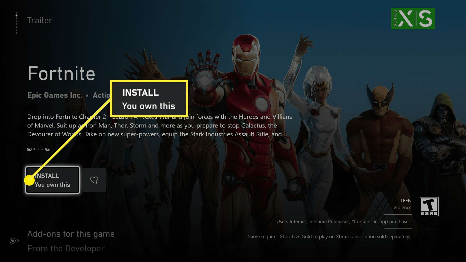 How Big Is The Fortnite Install How To Get Fortnite On Xbox Series X Or S