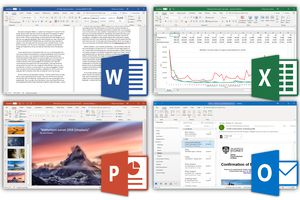 Microsoft Office Suite screenshot