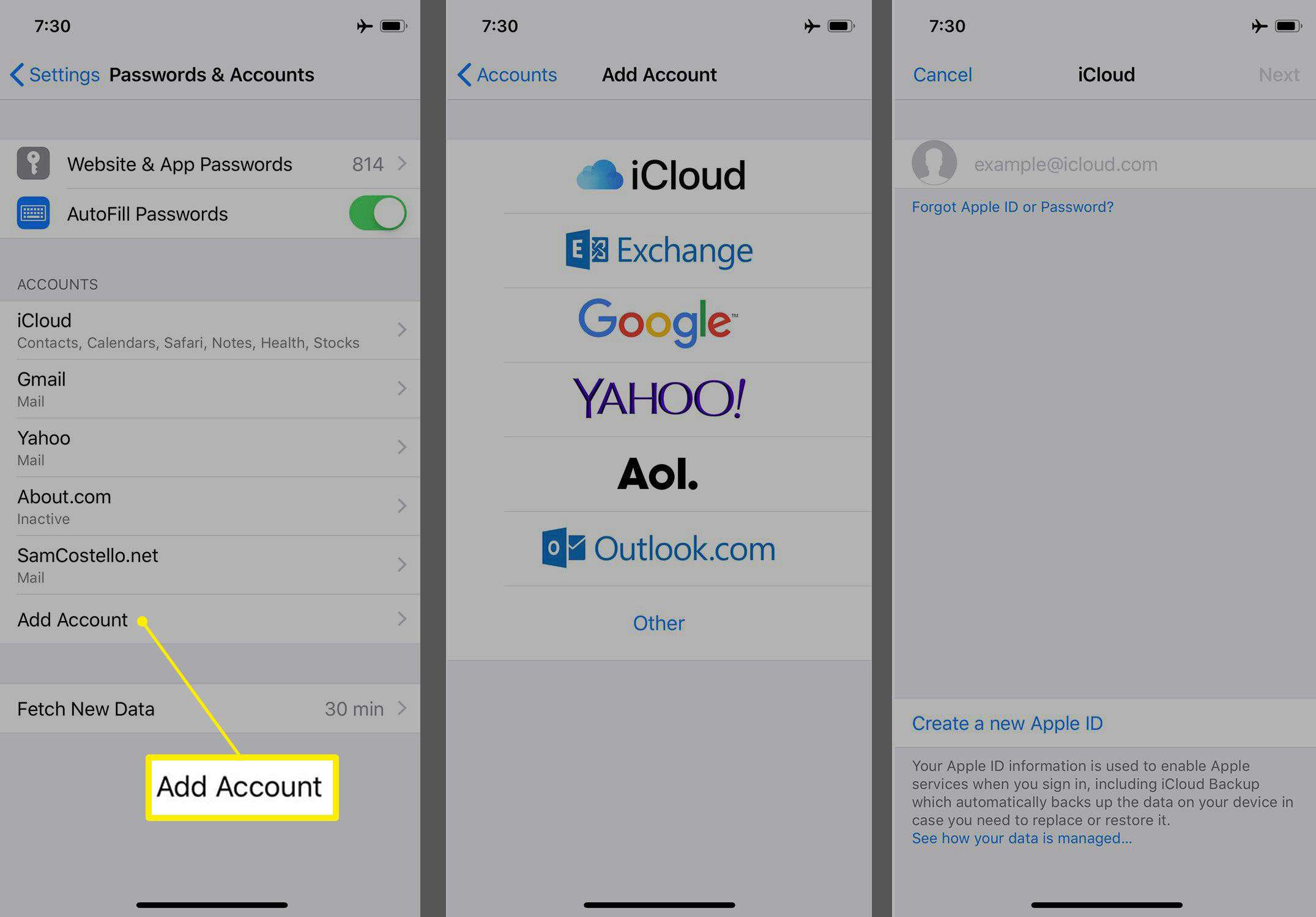 How to Add Another Email Account to Your iPhone
