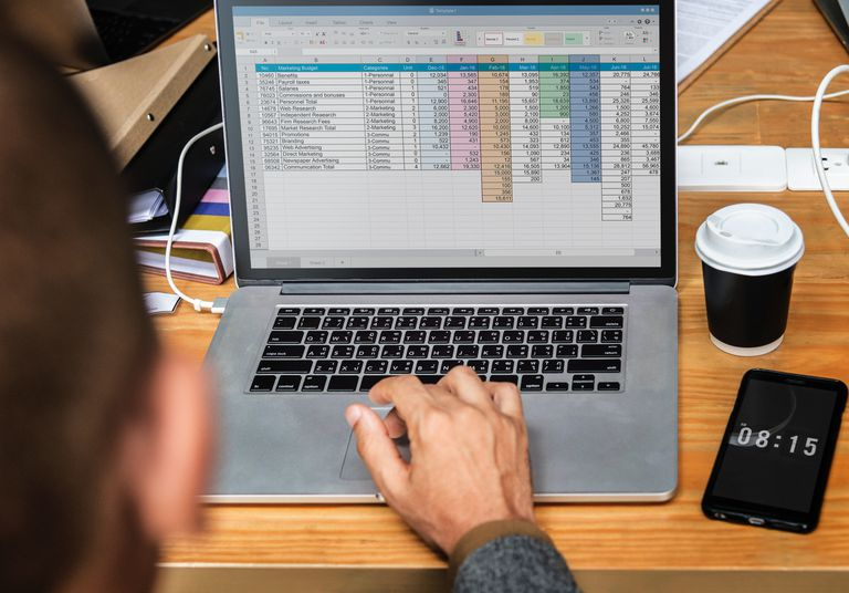 how to create database in ms excel