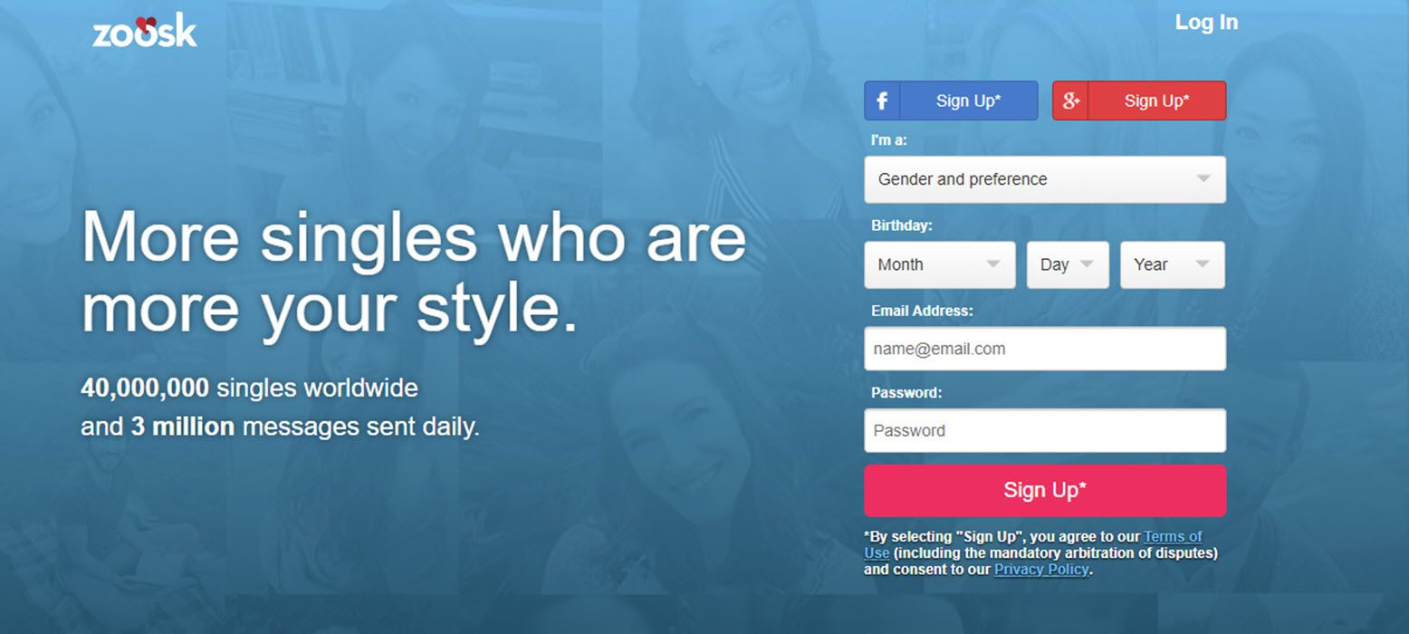 Zoosk free online dating site