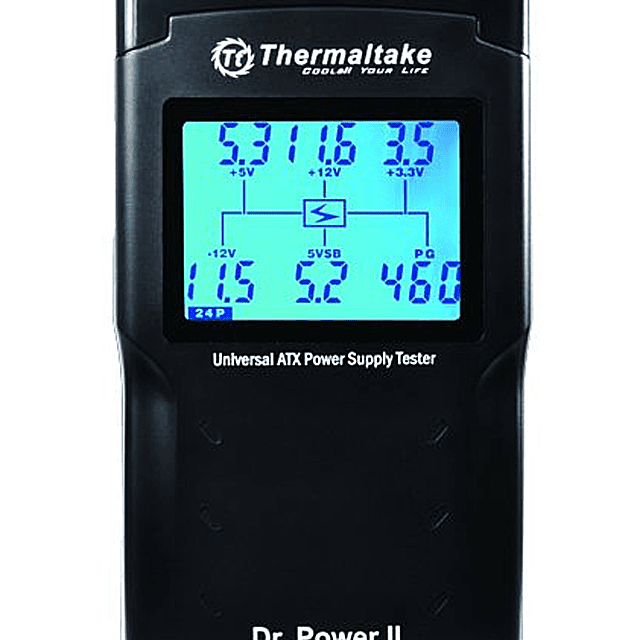 Picture of a Thermaltake Dr. Power II Automated Power Supply Tester