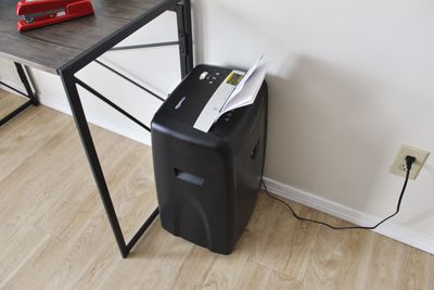 AmazonBasics 12-Sheet High-Security Micro-Cut Shredder