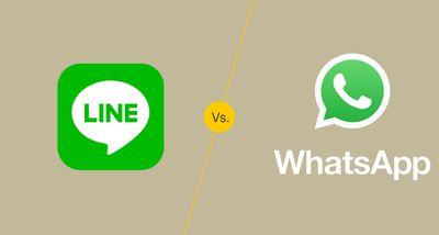 Line vs. WhatsApp