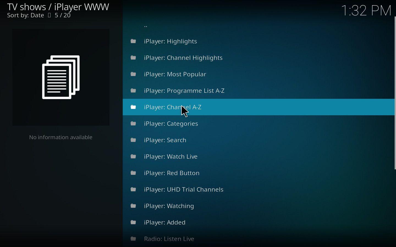 iPlayer Kodi Add-on