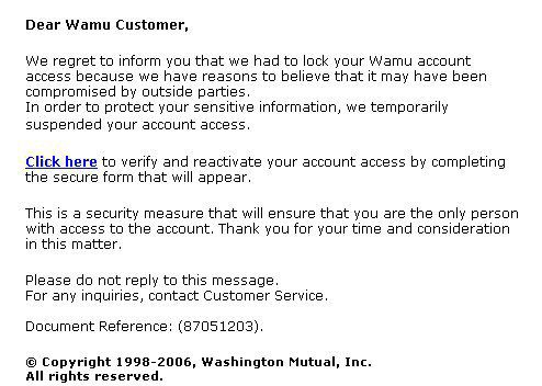 What Phishing and Email Scams Look Like