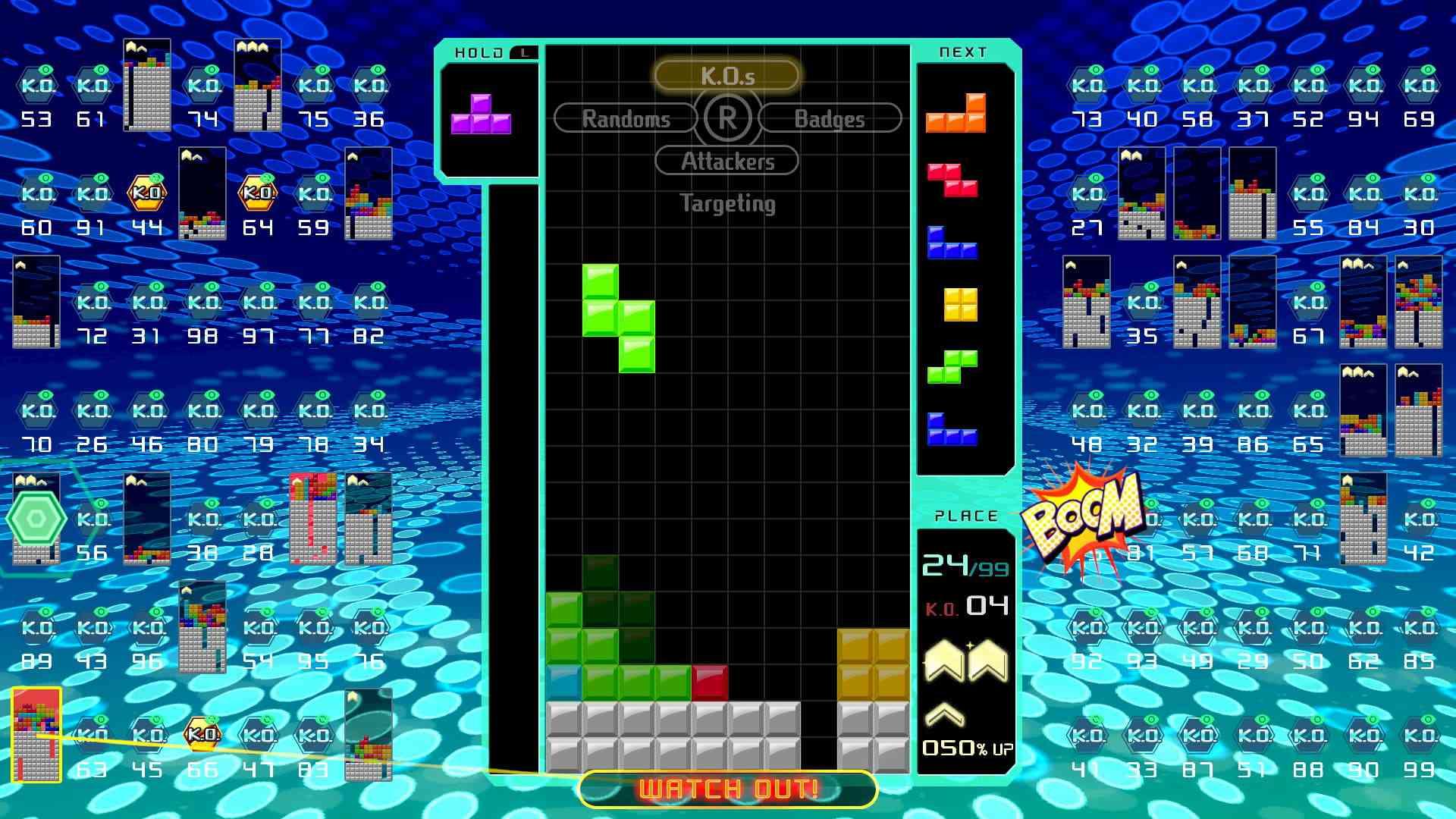Tetris 99 press image