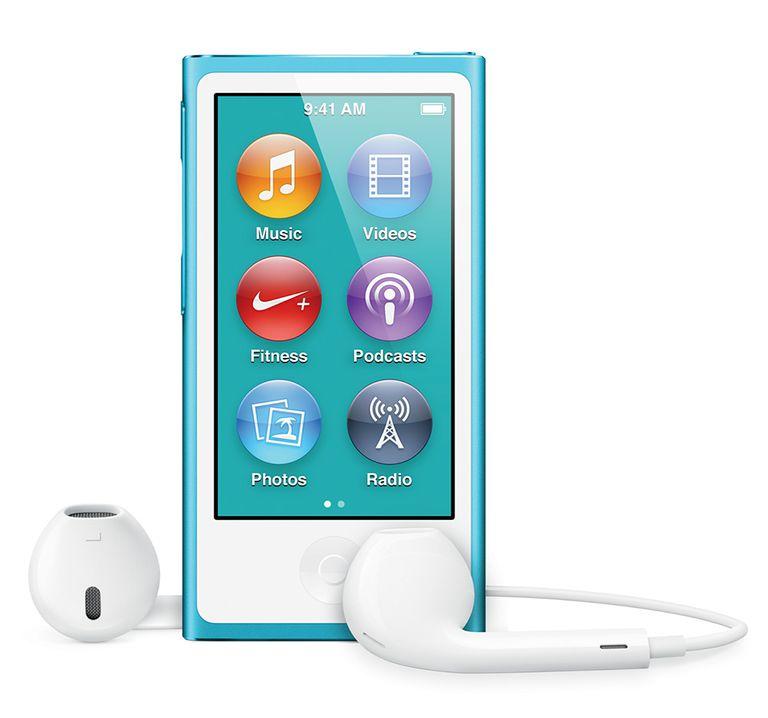 rearrange iPod nano apps