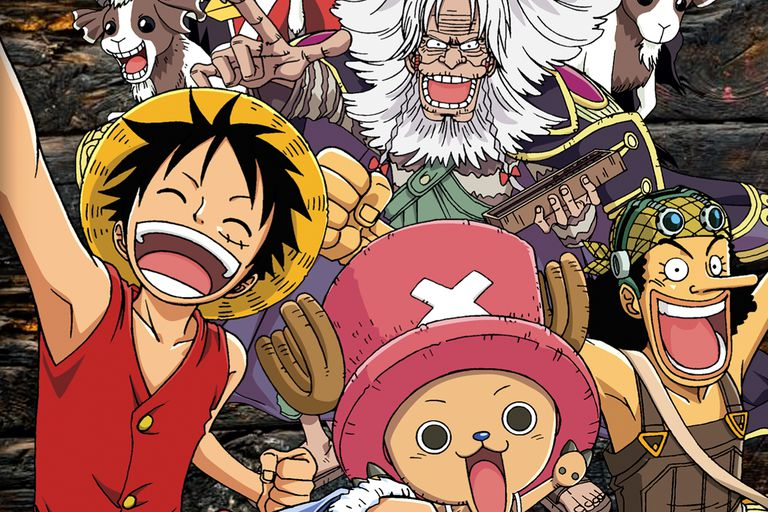Popular anime series, One Piece