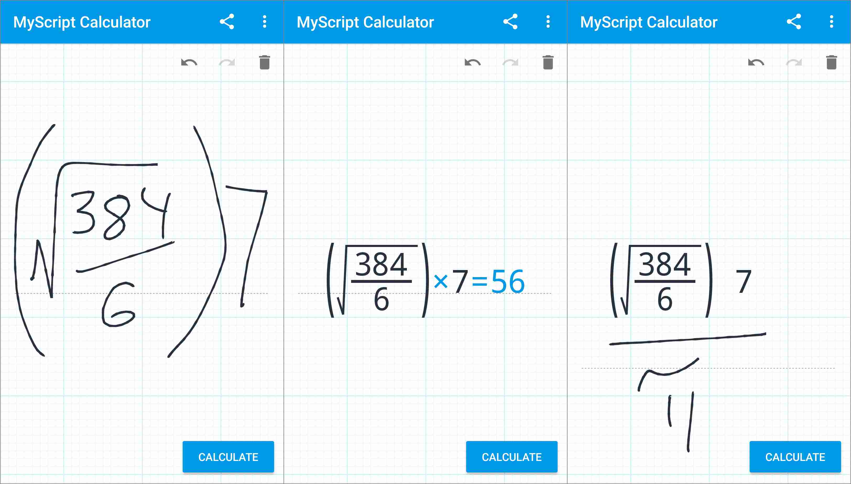 free download myscript calculator for android
