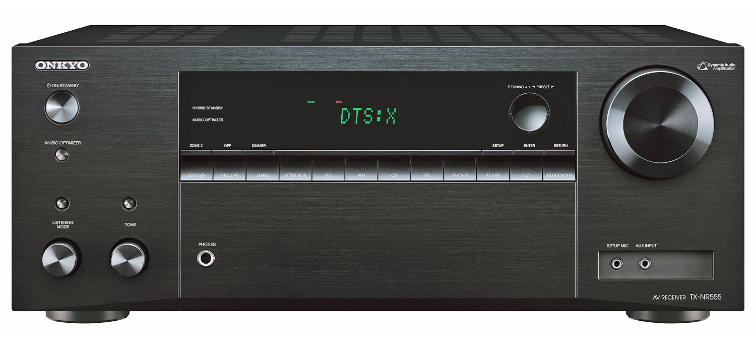 Onkyo TX-NR555 Dolby Atmos Home Theater Receiver Review