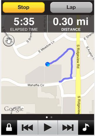 Garmin Fit App GPS