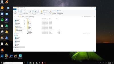Screenshot of the $WINDOWS.~BT folder