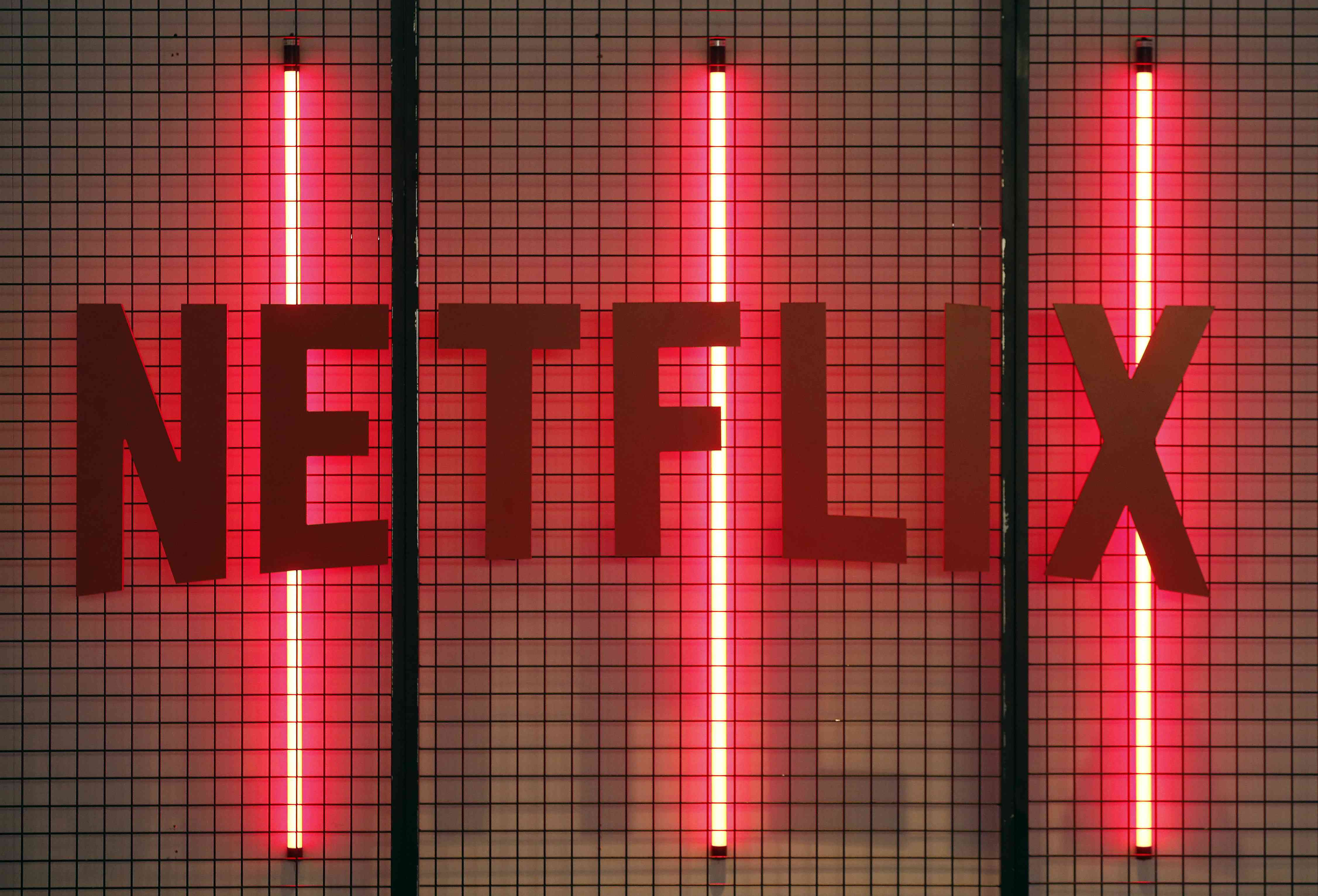 Netflix logo is displayed during the 'Paris Games Week'