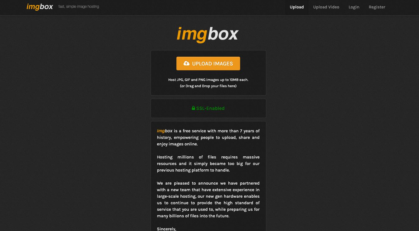 imgbox free photo hosting site